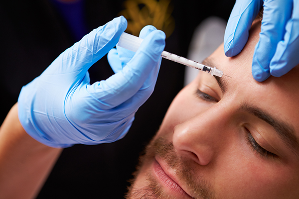 Sugar Land, Texas man gets Xeomin injectable treatment for frown lines